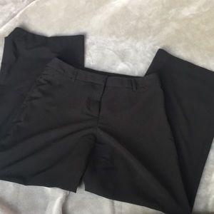 Wide leg Black pants size 8